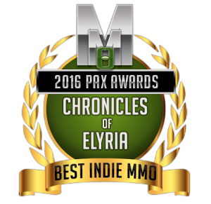 MMOGAMES AWARDS 2016 BEST INDIE AWARD